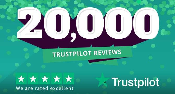 We reached 20K Trustpilot reviews and here are our favourites