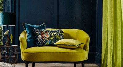 Interior Quiz - reveal your perfect Classic Blue mood board