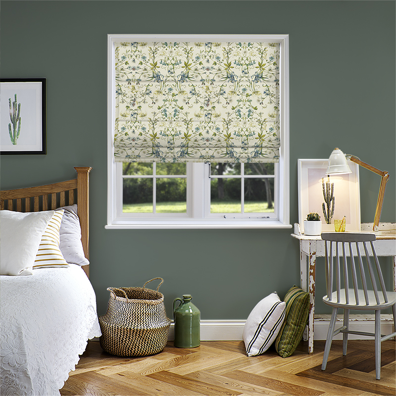 Carlotta Waterfall Roman Blind