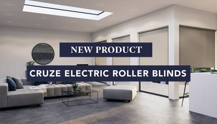 New Cruze Electric Roller Blinds
