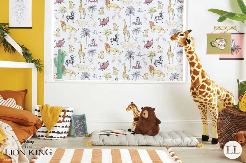 Disney Collection The Lion King Safari in a kid's bedroom