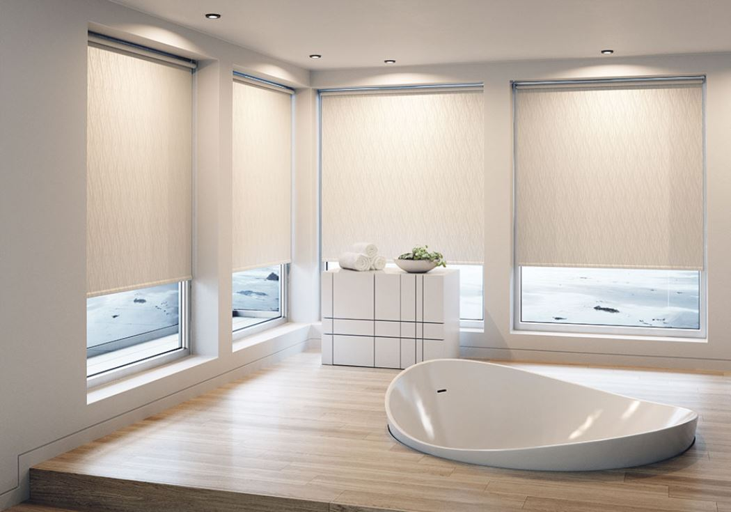 Diva Intimate Roller Bathroom Blind