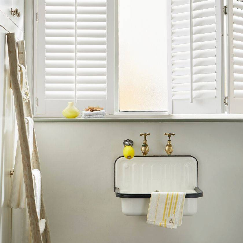 eco friendly roller blinds combine with shutters