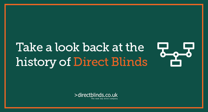 The Direct Blinds Timeline