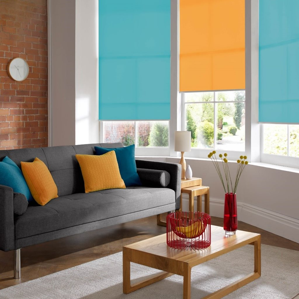 Kingfisher roller blinds