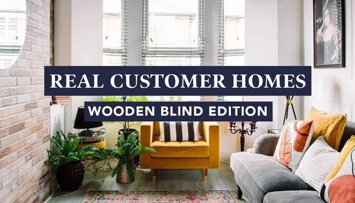 Real Customer Homes - Wooden Blinds Edition