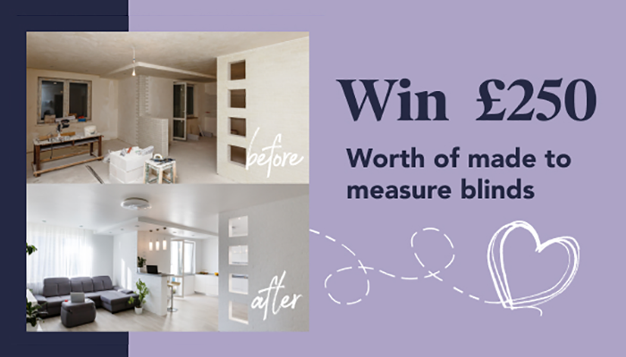 Enter our Home Transformation Competition!