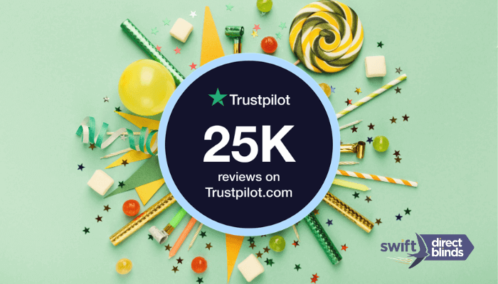 We have reached 25,000 Trustpilot reviews!