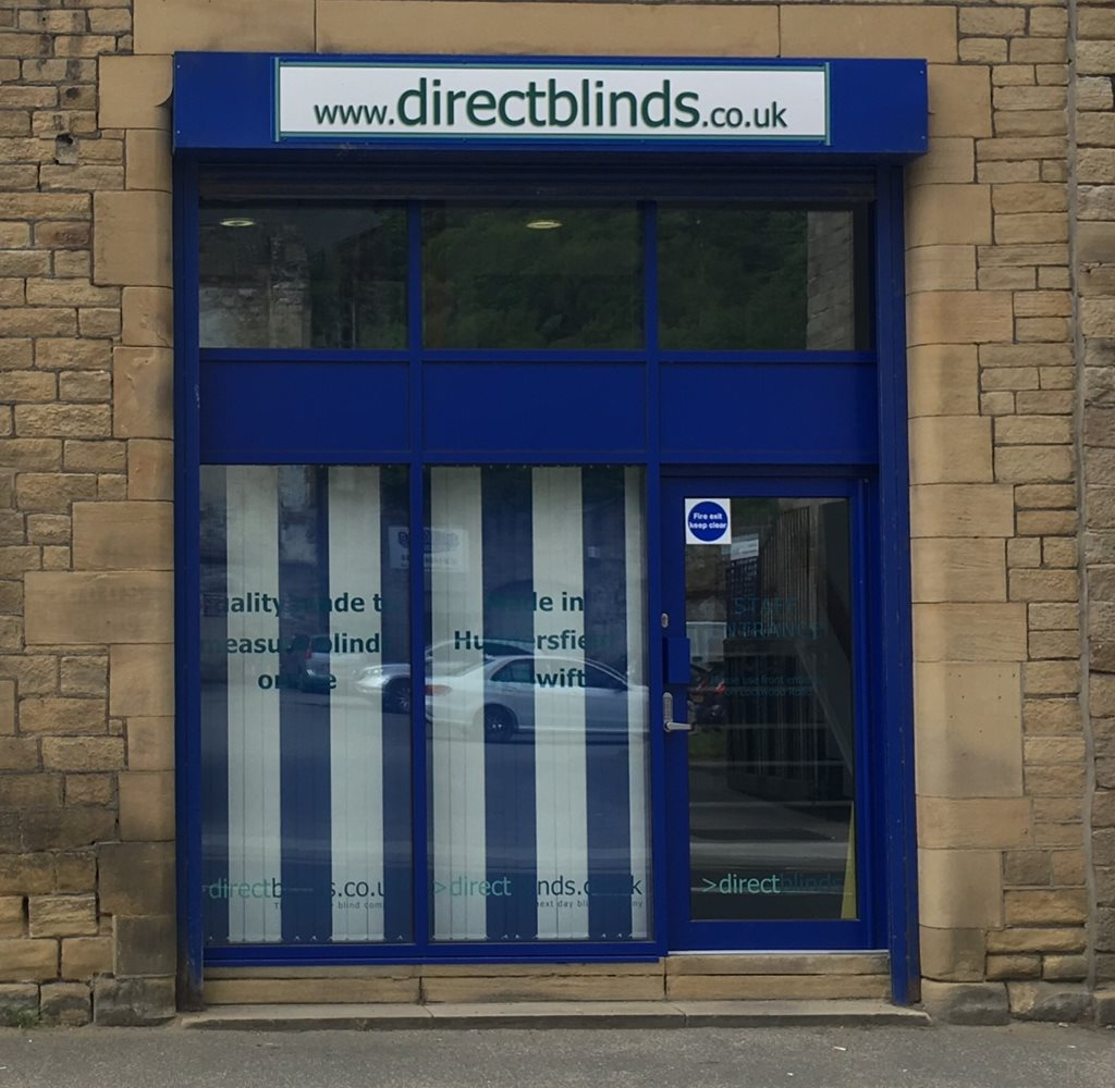 Vertical blinds in team colours