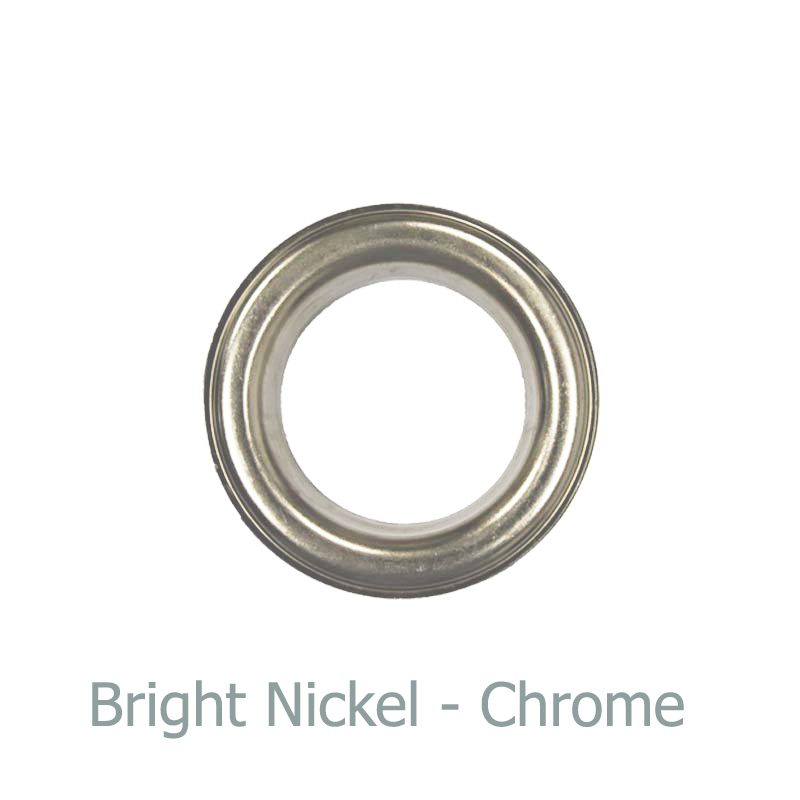 8. Bright Nickel Eyelet