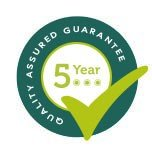 5 Year Quality Assured Guarantee
