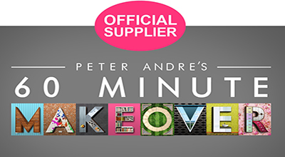 We Made It to 60 Minute Makeover with Peter Andre