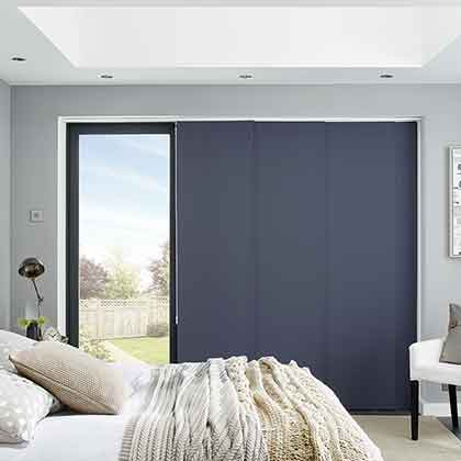 Fitting Panel Blinds