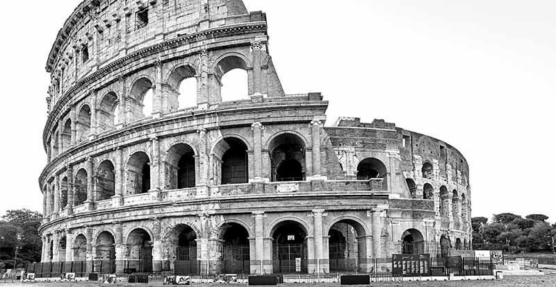 Colosseum GreyScale
