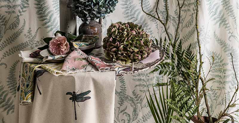 Botanical Prints and Fabrics