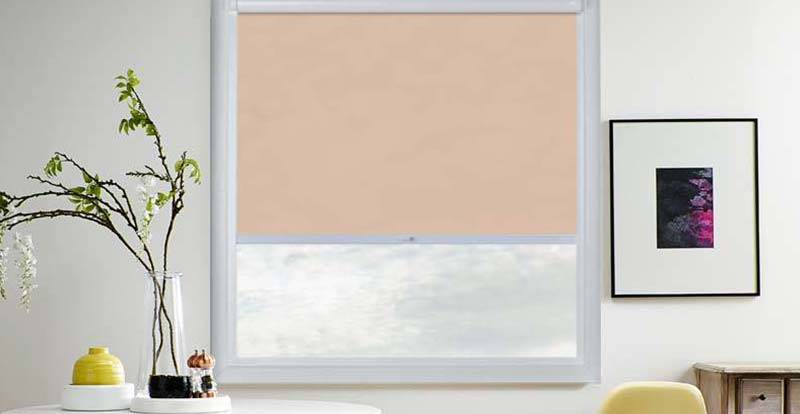 Orange Perfect Fit Roller Blind