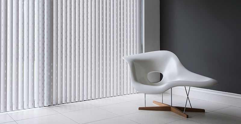 Rigid PVC Vertical Blinds