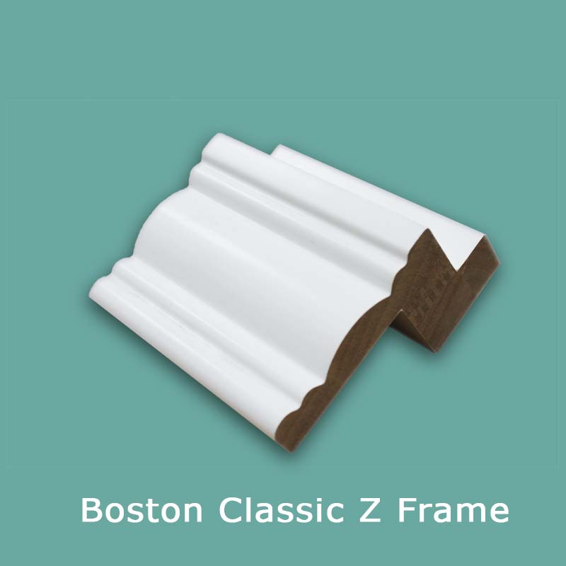 Boston Classic White Z Shutter Frame