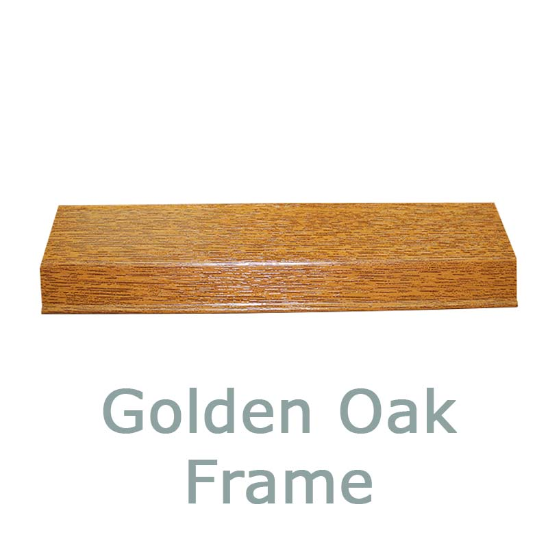 4. Golden Oak Frame Finish