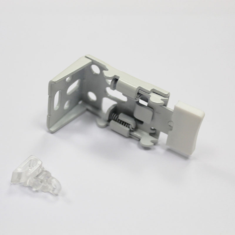 5. Brackets supplied with Safety Clip