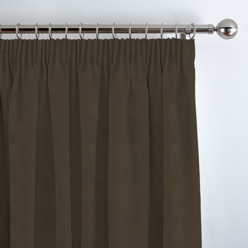 awstores co curtain and black blackout tag striped curtains dark brown cream