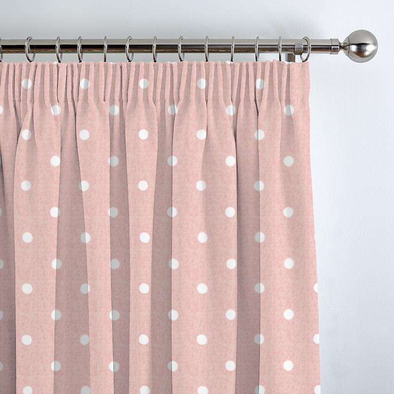 Dotty Rose Curtain Direct Blinds