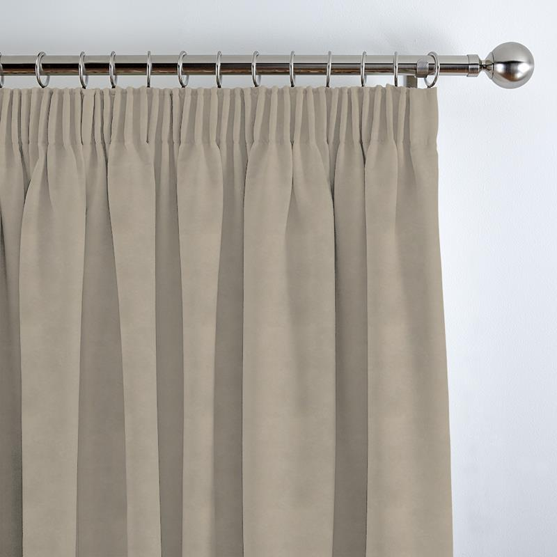 Faux Suede Barley Curtain Direct Blinds