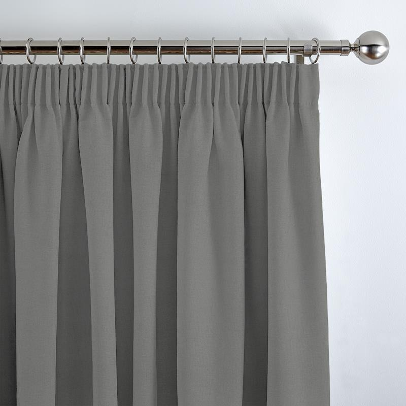 Panama Grey Curtain Direct Blinds