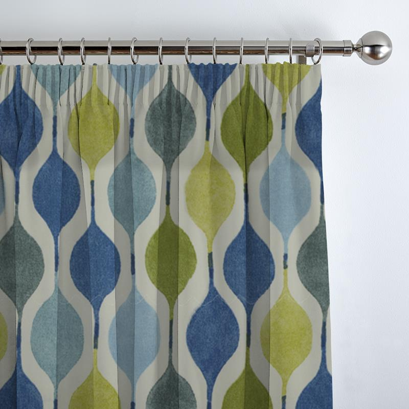 Verve Bluebell Curtain Direct Blinds