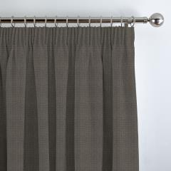 Curtains Basket Weave New Grey