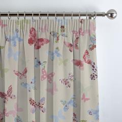 Curtains Butterfly Vintage