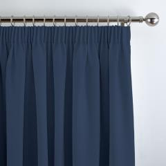 Curtains Panama Navy