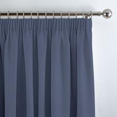 Curtains Panama Saxa Blue