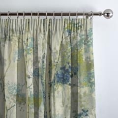 Curtains Silver Birch Larkspur