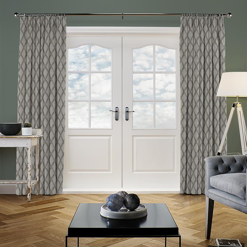Hestia Anthracite Curtain Direct Blinds