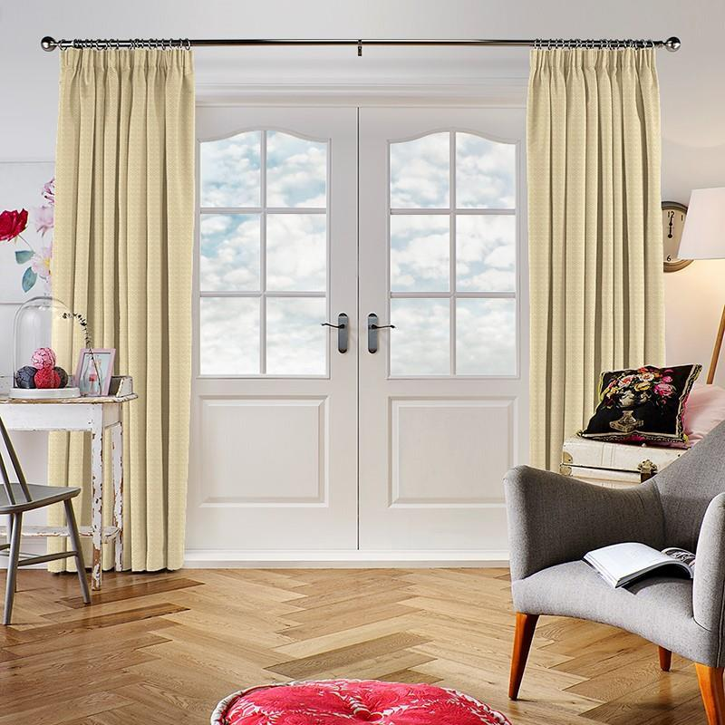 Hopsack Calico Curtain Direct Blinds