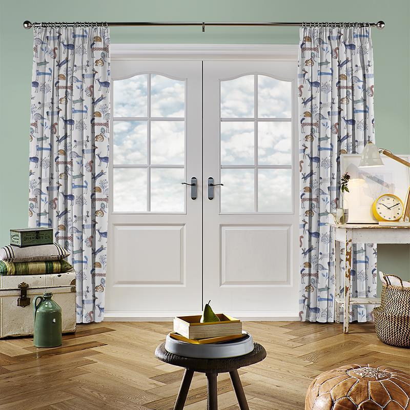 Oh Deer Colonial Curtain Direct Blinds