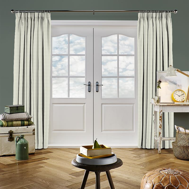Panama Oyster Curtain Direct Blinds