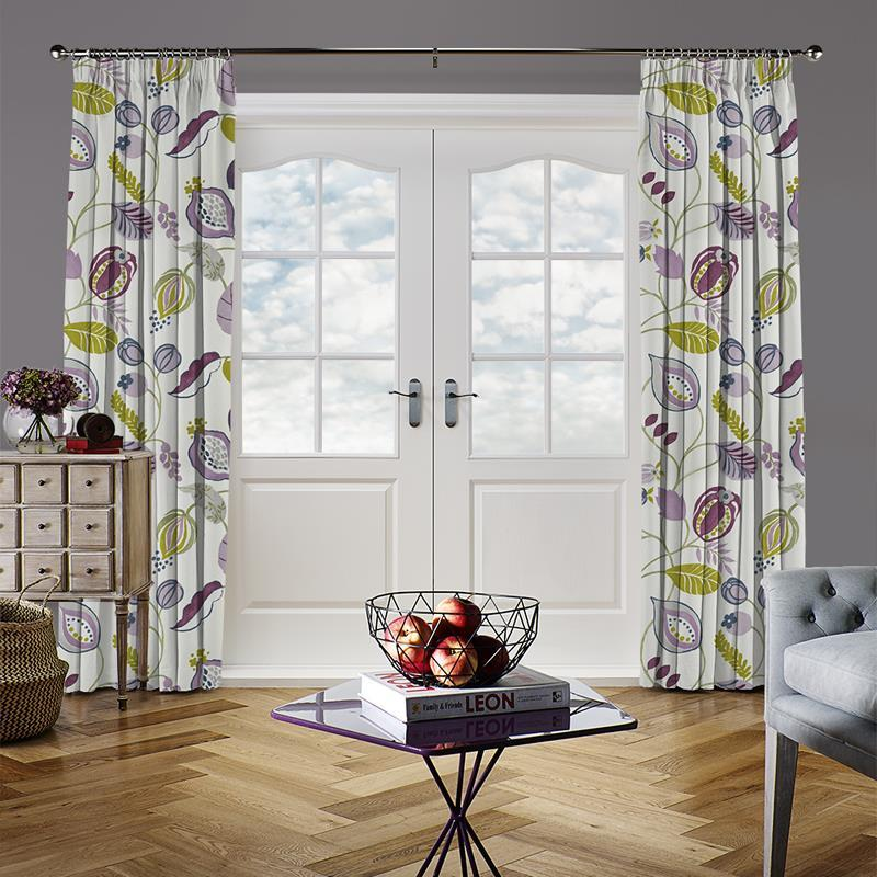 Zest Damson Curtain Direct Blinds