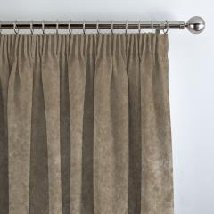 Curtains Crushed Velvet Ivory