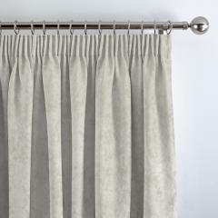 Curtains Crushed Velvet White