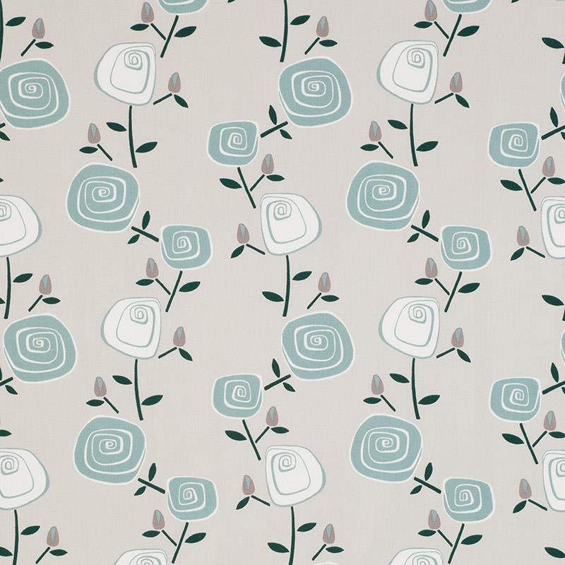 Rosey Posey Crystal Blue