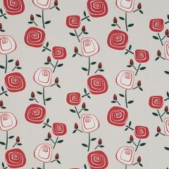 Rosey Posey Poppy Red