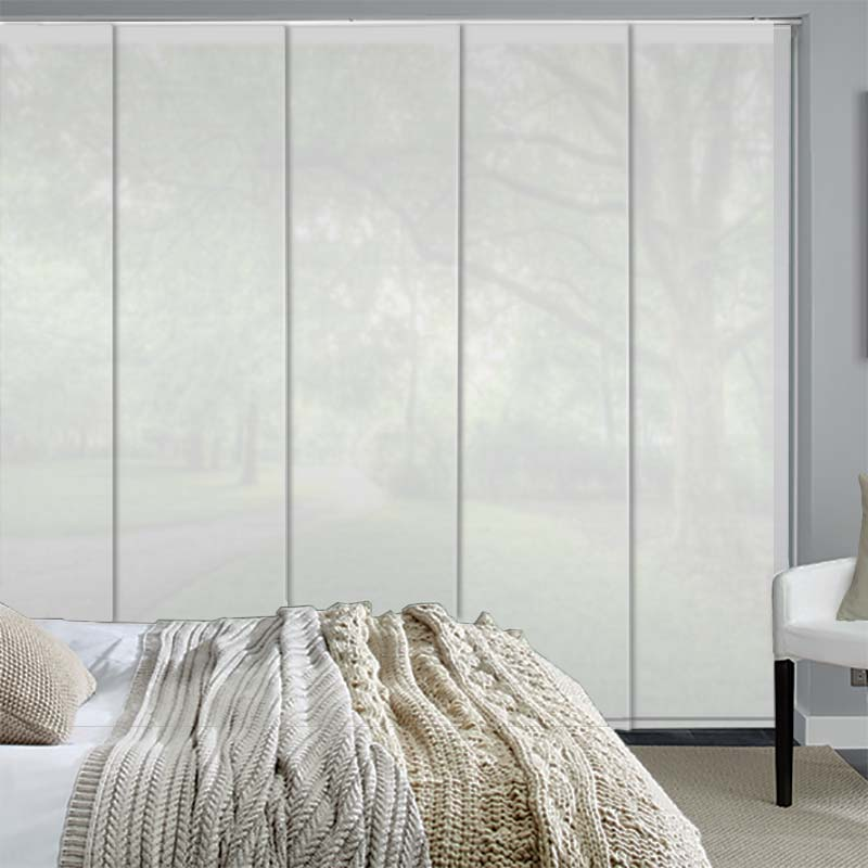 Voile Ice White - translucent