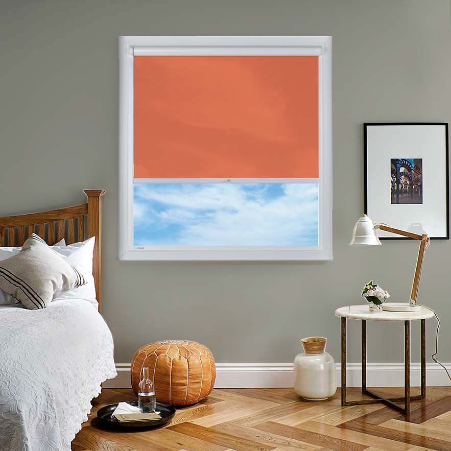 Bermuda Plain Burnt Orange