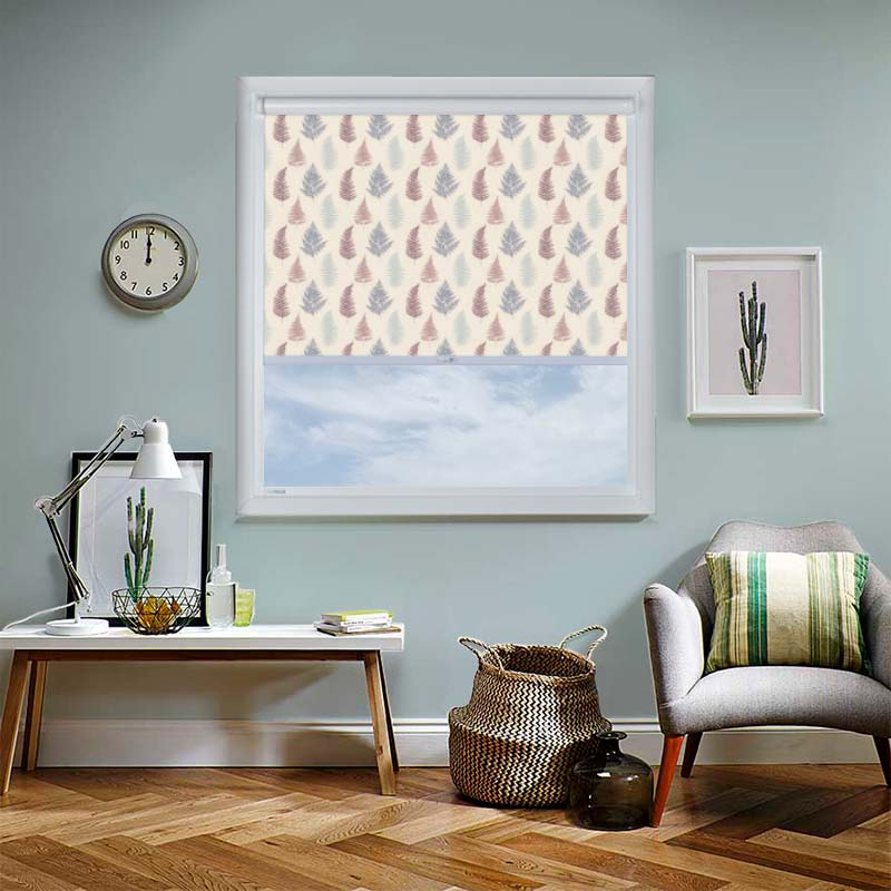 Fern Grape Perfect Fit Roller Blind Direct Blinds