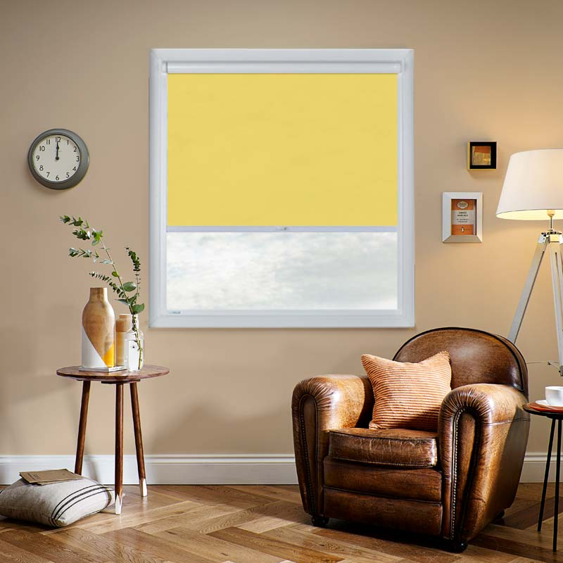 Vitra Blackout Acid Yellow swatch