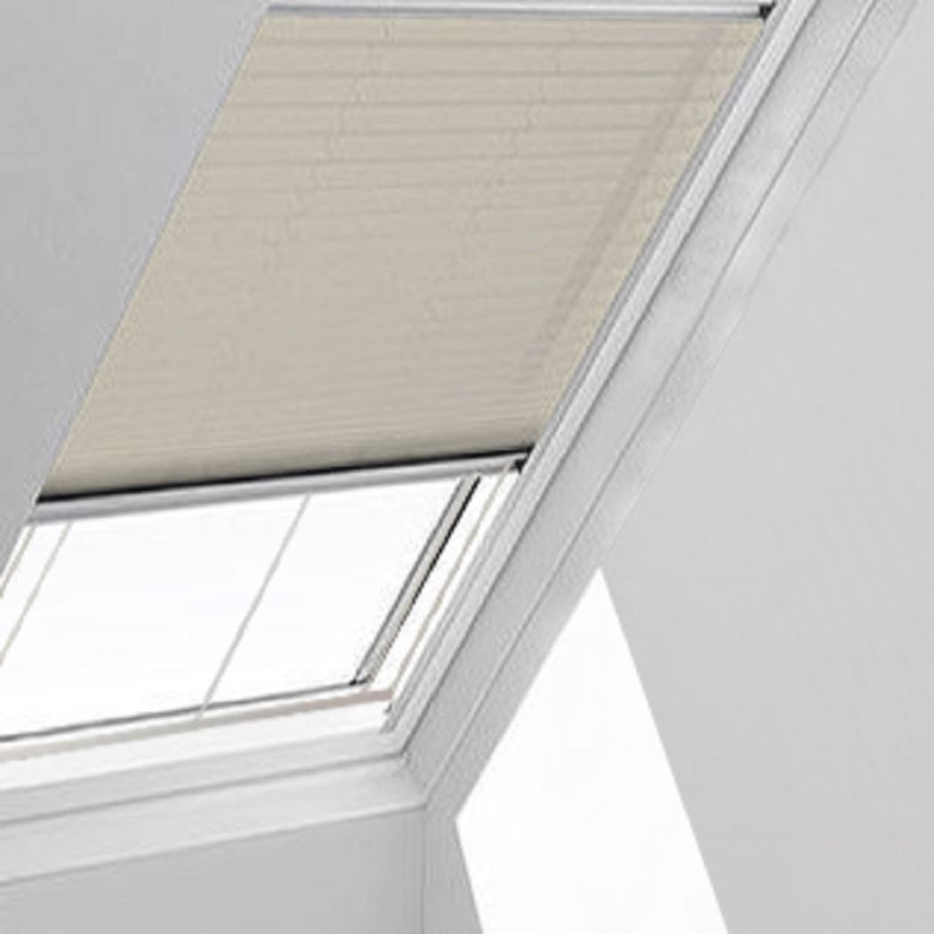Infusion Solar Cream Pleated Skylight Blind Direct Blinds