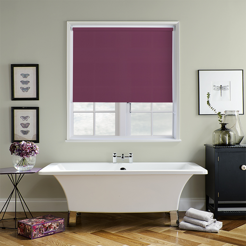 Atlantex Aubergine Roller Blind Direct Blinds