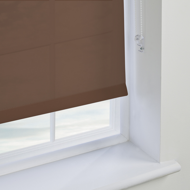 Brown Dining Room Roller Blinds Made To Measure From Direct